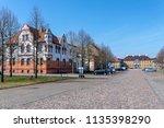 city oranienbaum with castle... | Shutterstock . vector #1135398290