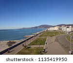 view on sochi from adler... | Shutterstock . vector #1135419950