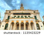 Small photo of City hall of Constantine, a French colonial bulding in Algeria