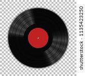 gramophone vinyl lp record... | Shutterstock .eps vector #1135423250
