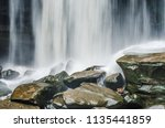 Cold River Waterfall Cascade...