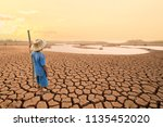 climate change and world... | Shutterstock . vector #1135452020