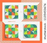 cover design template for... | Shutterstock .eps vector #1135453676