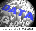 big data tools digital toolbox... | Shutterstock . vector #1135464209