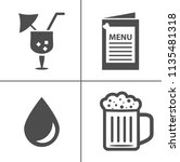 wine vector illustration icon... | Shutterstock .eps vector #1135481318