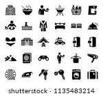vector travel icons  vacation...   Shutterstock .eps vector #1135483214