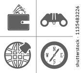 simple travel icons set....