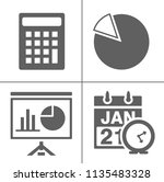 startup new business icons set  ... | Shutterstock .eps vector #1135483328