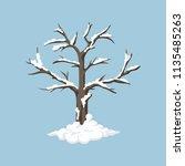 Snowy Tree Object