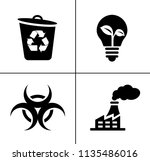 energy and ecology icons ... | Shutterstock .eps vector #1135486016