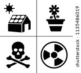 energy and ecology icons ... | Shutterstock .eps vector #1135486019