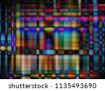 colored abstract background ... | Shutterstock .eps vector #1135493690