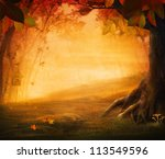 Autumn Design   Forest In Fall...