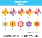 educational children game.... | Shutterstock .eps vector #1135497833