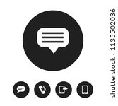 set of 5 editable device icons. ...