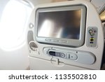 multimedia system in economy... | Shutterstock . vector #1135502810