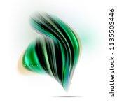 fluid liquid mixing colors... | Shutterstock .eps vector #1135503446