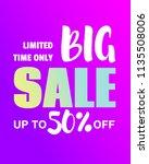creative banner design fluid... | Shutterstock .eps vector #1135508006