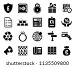 vector sale and shopping icons... | Shutterstock .eps vector #1135509800