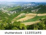 landscape of highlands on the...   Shutterstock . vector #113551693