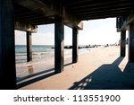 Pier. Beach At Coney Island ...