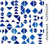 seamless watercolor pattern.... | Shutterstock . vector #1135531259