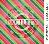 facility christmas emblem.   Shutterstock .eps vector #1135531370