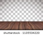vector illustrated wooden floor ... | Shutterstock .eps vector #1135534220