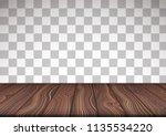 vector illustrated wooden floor ... | Shutterstock .eps vector #1135534220