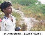 ennore  north chennai  tamil... | Shutterstock . vector #1135575356
