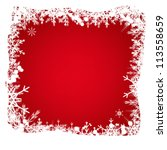 abstract  christmas and new... | Shutterstock .eps vector #113558659