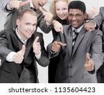 successful international...   Shutterstock . vector #1135604423