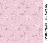 abstract pink gold glitter... | Shutterstock . vector #1135605509