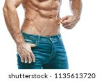 bodybuilder posing. beautiful...