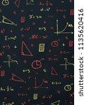 mathematics school subject with ...   Shutterstock .eps vector #1135620416