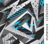 abstract seamless grunge urban... | Shutterstock .eps vector #1135623410