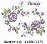 rose motif design and pattern...