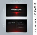 namecard template technology... | Shutterstock .eps vector #1135647299
