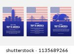 Set Of Usa Country Ornament...