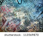 Graffiti Background  Grunge...