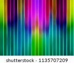 colours parallel vertical lines ... | Shutterstock . vector #1135707209