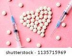 Heart Made Of Medication White...