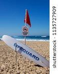 Warning Signage And Lifeguard...