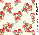 seamless floral pattern with... | Shutterstock .eps vector #1135741070