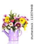 beautiful bouquet of bright... | Shutterstock . vector #113574448