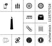 single icon. collection of 13...   Shutterstock .eps vector #1135757528