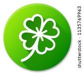 illustration of clover green... | Shutterstock .eps vector #1135769963
