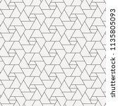 geometric vector pattern ... | Shutterstock .eps vector #1135805093