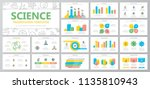 set of science and research... | Shutterstock .eps vector #1135810943