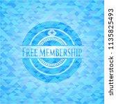 free membership light blue... | Shutterstock .eps vector #1135825493